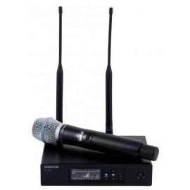 SHURE QLXD24E/B87A - дигитален безжичен микрофон